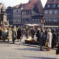 Der Marktplatz April 1960