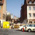 """Die Baulücke des ehemaligen """"Quickschuh"""" wird geschlossen - 2004"""