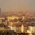Blick vom SKF-Hochhaus nach Norden im März 1960
