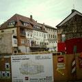 Neubau Rückert-Center an der Stelle des abgerissenen cafes Beier 1992