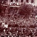 König Ludwig zu Besuch 02. Mai 1917