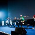 Auftritt der trommelnden Superhelden inklusive / Foto: Andreas Kermann