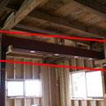 天井の補強工事
