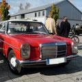 et première apparition de la Mercedes de Marc