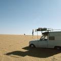 Monter sur les dunes n'est pas une bonne idée