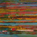 No. 07 - Mischtechnik Acryl auf Leinwand 100x20 cm (2009)