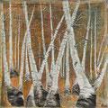 No. 27 - Mischtechnik Acryl auf Leinwand 100x100 cm (2012) - verkauft -