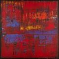 No. 22 - Mischtechnik Acryl auf Leinwand 120x120 cm (2012) - verkauft -