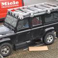Land Rover Ausbau: Start