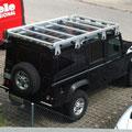 Land Rover Ausbau: Scheiben tönen