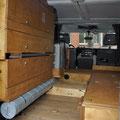 Land Rover Ausbau: Innenausbau Defender
