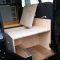 Land Rover Ausbau: Stauraum
