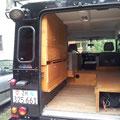 Einbau Schrank im Land Rover Defender