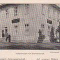 Flügel der gräflichen Villa Victoria (Langer Bau), in dem die Banklokalitäten waren