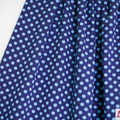 lillestoff - dotts dunkelblau/hellblau - biojersey