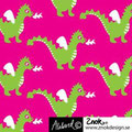 znok - dragons cerise - bio-jersey