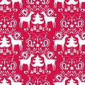 blend fabrics - rudolph, red - baumwolle