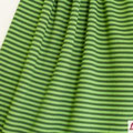 Lillestoff - Streifen grün/oliv