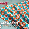 lillestoff - lothar stars orange - biojersey