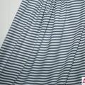 lillestoff - streifen grau/weiß - jersey