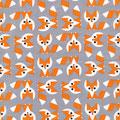 cloud9 - foxes - baumwolle