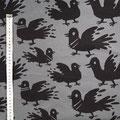 käpynen - pigeon, grau - bio-jersey