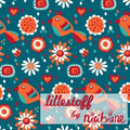lillestoff - jersey - bees and birdies