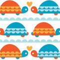 Birchfabrics - Turtle Love
