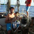 jeune marin a bord de sianben