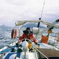 Cap Horn a bord de Loick (en honneur a loick Fougeron)