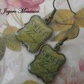 PE013 colgante verde, 1,50 euros