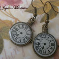 PR009 reloj bronce. Largo aprox. 3,8mm