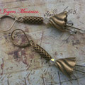 PF010 bronce y tupis swarovski