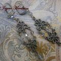 PC156 pendientes chandelier plata