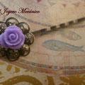 H005 Horquilla violeta