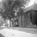 Gutshaus Ganzow - Frontansicht um 1920
