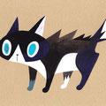おっとりとした猫