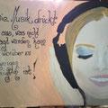 Die Musik drück aus... (Juni 2012) / Dieses Bild ist verkäuflich, bitte Preis erfragen KONTAKT/BOOKING
