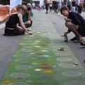 Strassenmaler A40 Still-Leben Ruhrschnellweg