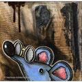 Rat de bibliothèque- Leseratte/ Detail