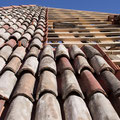 """copertura del tetto con coppi vecchi """"mönch&nonne"""""""