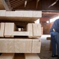 Abbund der tragenden Holzteile