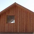Aussenverkleidung mit einheimischen Lärchenholz - Fam. Lahner, Kaltern