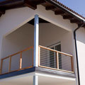 parapetto balcone - sede di maso dindo giuseppe