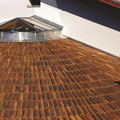 """copertura del tetto con coppi nuovi """"mönch&nonne"""""""