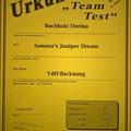 Team Test Somora´s Juniper Dream...02.04.2017