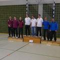 Fred Knierim, Walther Herrmann, Matthias Stojan 2. Platz Mannschaft Blankbogen