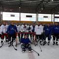 Eishockeyaktion in Schweinfurt