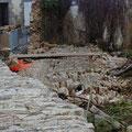 Dégât place Lovignon à Quimperlé