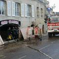 Dégâts quai Brizeux à Quimperlé